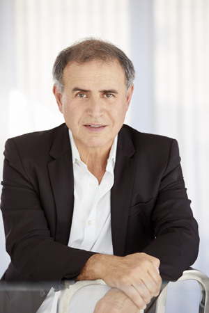 Nouriel at his house in NYC