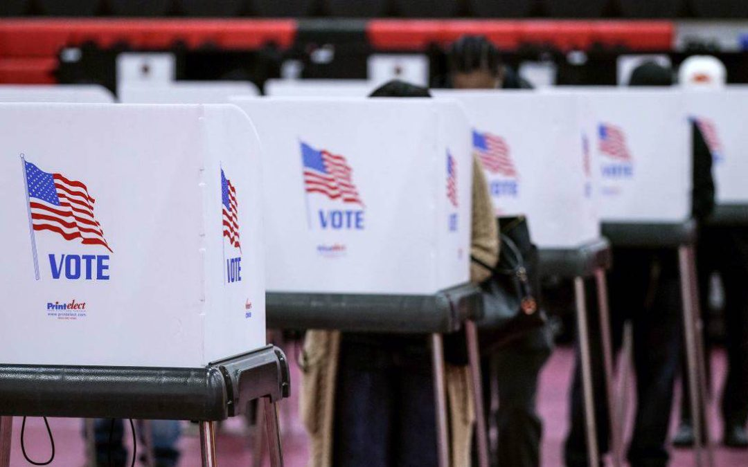 The US Election's Chaos Quotient